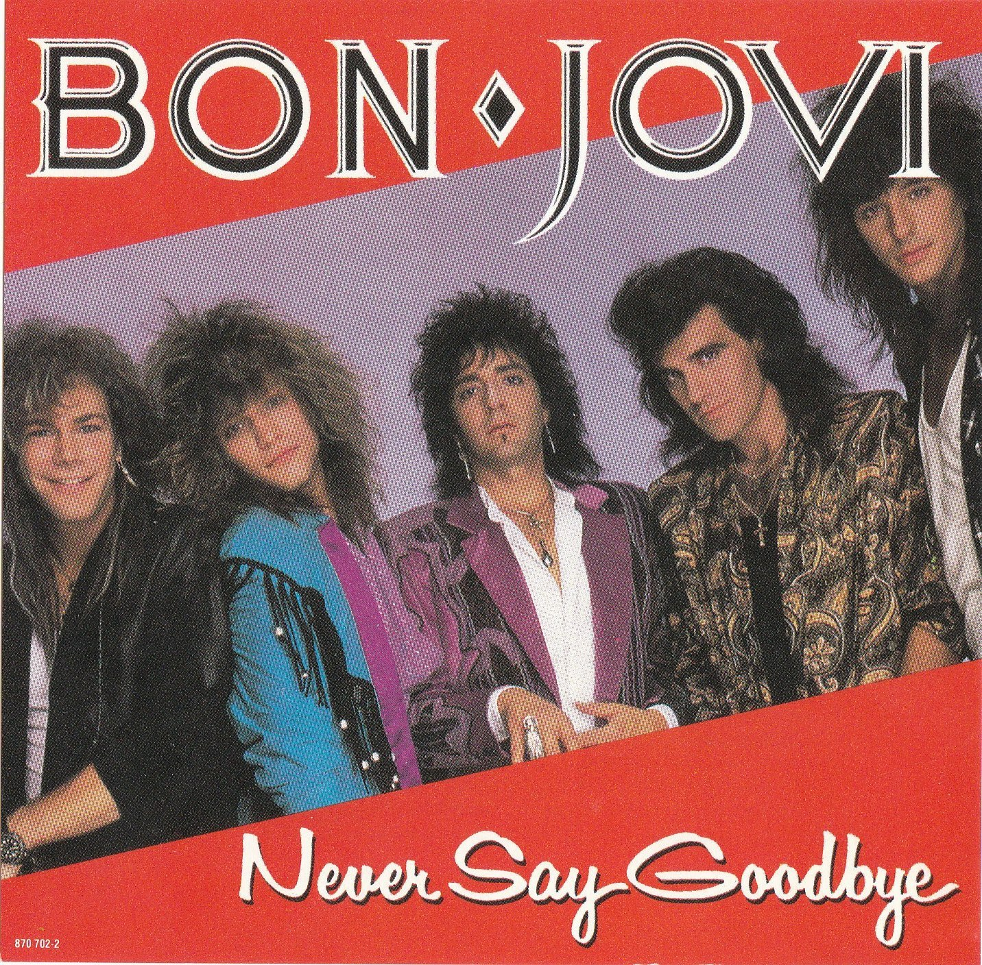 Image result for Bon Jovi - Never Say Goodbye